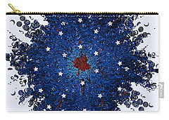 Dual Citizenship 1 Carry-all Pouch by First Star Art