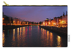 Dublin Nights Carry-all Pouch by Mary Carol Story