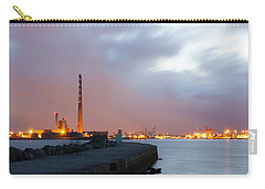 Dublin Port At Night Carry-all Pouch