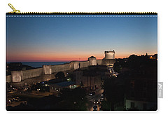 Carry-all Pouch featuring the photograph Dubrovnik by Silvia Bruno