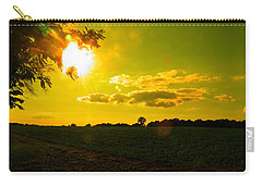 Duck Flying Low Cloud 2 Carry-all Pouch
