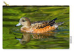 Young Female Mallard Duck Carry-all Pouch
