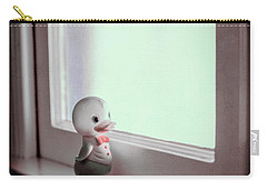 Duckie At The Window Carry-all Pouch