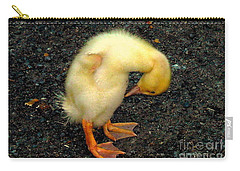 Duckling Takes A Bow Carry-all Pouch