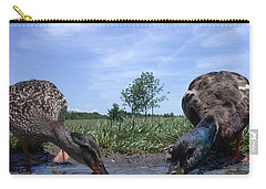 Ducks Eye View Carry-all Pouch
