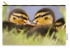 Anas Platyrhynchos Photographs Carry-All Pouches