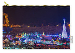 Duluth Christmas Lights Carry-all Pouch by Paul Freidlund