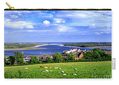 Dundrum Bay Irish Coastal Scene Carry-all Pouch by Nina Ficur Feenan