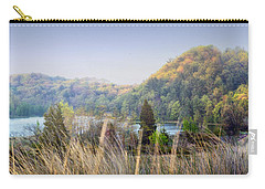 Dune Lake Panorama Saugatuck Mi Carry-all Pouch