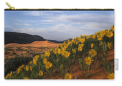 Dunes In Bloom Carry-all Pouch