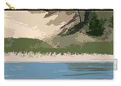 Dunes Of Lake Michigan Carry-all Pouch by Michelle Calkins