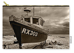 Dungeness Boat Under Stormy Skies Carry-all Pouch