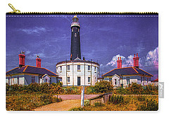 Carry-all Pouch featuring the photograph Dungeness Old Lighthouse by Chris Lord