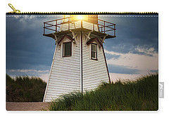 Dusk At Covehead Harbour Lighthouse Carry-all Pouch
