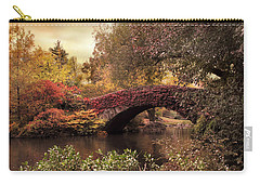 Carry-all Pouch featuring the photograph Dusk At Gapstow by Jessica Jenney