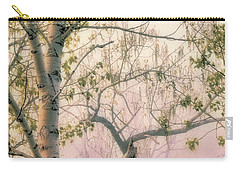 Dusk On Shoreline Trees Carry-all Pouch