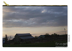 Carry-all Pouch featuring the photograph Dusk Til Dawn by Bobbee Rickard