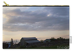 Carry-all Pouch featuring the photograph Dusk To Dawn by Bobbee Rickard