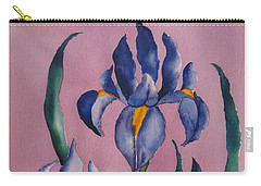 Dutch Irises Carry-all Pouch