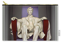Ea-z-chair Lincoln Memorial 2 Carry-all Pouch