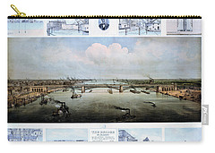 Eads Bridge Drawings Carry-all Pouch
