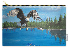 Eagle Attack Carry-all Pouch by Norm Starks