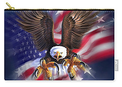 Eagle Burst Carry-all Pouch