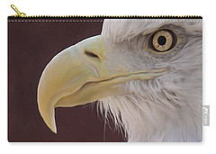 Eagle Portrait Freehand Carry-all Pouch