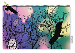 Carry-all Pouch featuring the digital art Eagle Rebirth Light by Kim Prowse