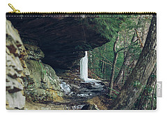 Eaglefalls Trail In Winter Carry-all Pouch
