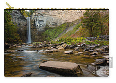 Early Autumn Morning At Taughannock Falls Carry-all Pouch