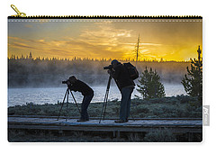 Early Birds Yellowstone National Park Carry-all Pouch