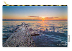 Early Breakwater Sunrise Carry-all Pouch