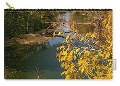 Early Fall On The Navasota Carry-all Pouch