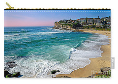 Early Morning Bronte Beach By Kaye Menner Carry-all Pouch