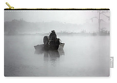 Early Morning Fishing Carry-all Pouch by Myrna Bradshaw