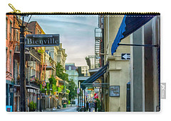 Early Morning In French Quarter Nola Carry-all Pouch