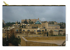 Carry-all Pouch featuring the photograph Early Morning In Jerusalem by Doc Braham