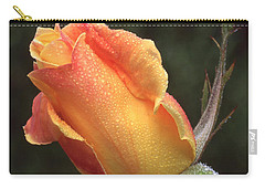 Early Morning Rosebud Carry-all Pouch