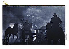 Early Morning Smoke Carry-all Pouch by Joan Davis