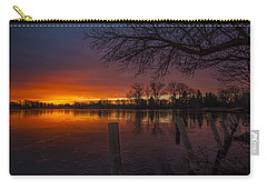 Carry-all Pouch featuring the photograph Early Morning Sunrise by Nicholas  Grunas