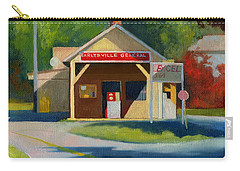 Earlysville Virginia Old Service Station Nostalgia Carry-all Pouch