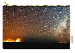 Earth And Cosmos Carry-all Pouch