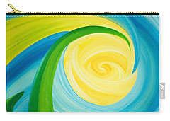 Earth And Sky Meet Carry-all Pouch by Ginny Gaura
