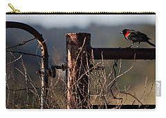 Eary Morning Blackbird Carry-all Pouch