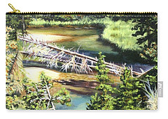 East Rosebud Inlet Stream Carry-all Pouch