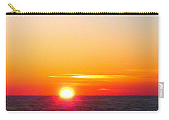 East. Sleep. Beach Sunrise Carry-all Pouch