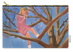 Easter In The Apple Tree Carry-all Pouch