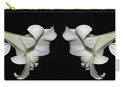 Easter Lilies Panorama Carry-all Pouch