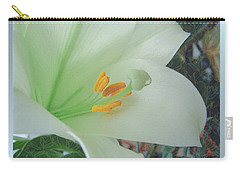 Easter Lily Carry-all Pouches